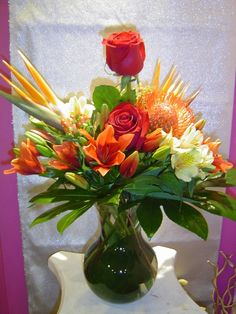 A flower arrangement called Valentine