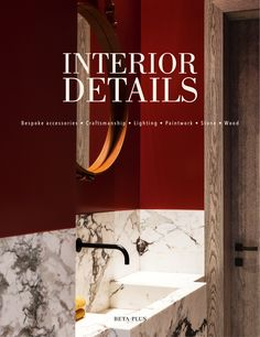 """A large size coffee table book with hundreds of ravishingly beautiful and inspiring pictures about the all important """"finishing touches"""" of each interior: bespoke accessories made by exceptional craftsmen, wonderful lighting and exquisite fabrics, unique colours and paints, marvelous natural stones and wood,..."""