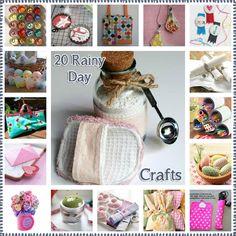 20 Rainy Day Crafts