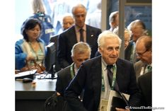 IOC members arrive at the 129th Session on Aug. 3 (ATR)