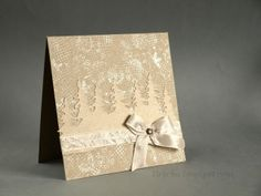 #eco style #christmas #diy #card using #stamps from 3rd Eye <3 http://3rdEyeCraft.com