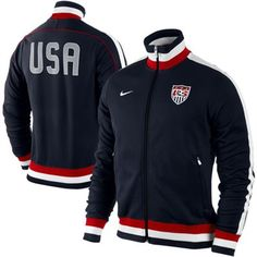 Nike US Soccer Authentic Track Jacket Nike Outfits, Sport Outfits, Sport Fashion, Teen Fashion, Nike Clothes Mens, Dope Outfits For Guys, Us Soccer, Sport Wear, Nike Jacket
