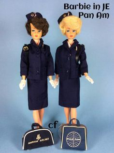Pan Am Japanese Edition Play Barbie, Barbie I, Vintage Barbie Dolls, Barbie World, Barbie And Ken, Barbie Clothes, Barbie Family, Doll Wardrobe, Ken Doll