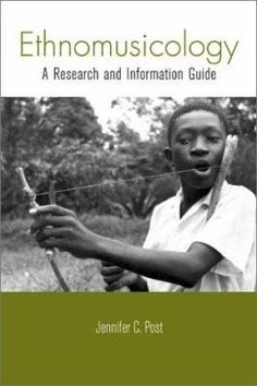 Ethnomusicology A Guide to Research (Book) : Post, Jennifer C. : Ethnomusicology: A Research and Information Guide is an annotated bibliography of books, recordings, videos, and websites in the field of ethnomusicology. The book is divided into two parts