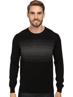 Perry Ellis Pattern V-Neck Sweater