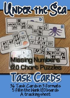 36 - 120 chart puzzles for students to fill in. Laminate and use dry erase markers for a low prep center. There are also 5 120 charts with missing numbers to provide extra practice. Number Sense Activities, Math Activities, Teaching Math, Teaching Ideas, 120 Chart, Primary Maths, Math Addition, Math Numbers, Guided Math