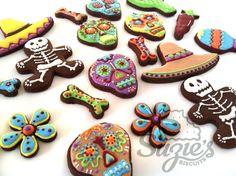 El día de los muertos cookies