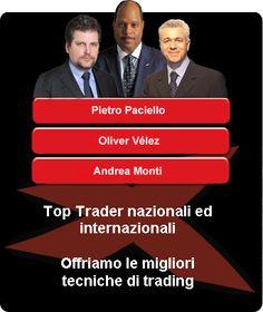 La formazione professionale con i migliori trader professionisti.