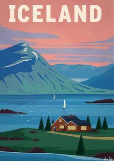 Alex 247 Art print Iceland