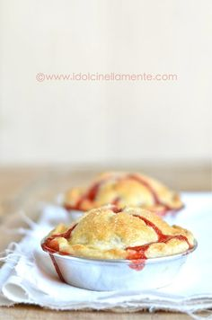 Mini Pie di fragole