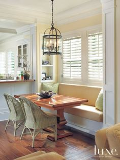 Sit and savor the most important meal of the day in one of these breakfast nooks.