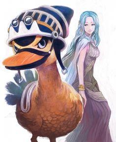Tags: Anime, Lack, ONE PIECE, Karuh, Nefertari Vivi, Duck, Goggles