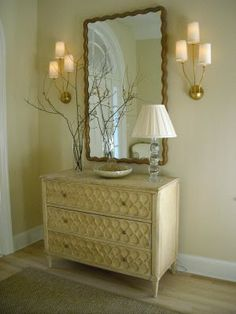 decorating your foyer | Make is simple by using furniture you may already have in your home ...