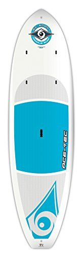 "BIC Sport ACE-TEC Cross Stand Up Paddleboard, Matte White, 10'0"" * You can get more details by clicking on the image."