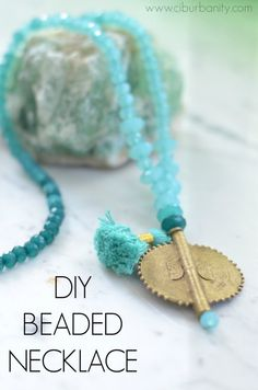 Quick and Easy Beaded Necklace