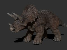 3D Triceratops. This royalty free 3D model or texture is available for download now! 3DTriceratops is a 3D model made in ZBrush.  ztl high resolution ...