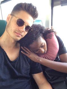 Beautiful interracial couple #love #wmbw #bwwm #swirl #biracial #mixed #lovingday #relationshipgoals