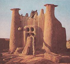 Storehouse, Dogon People, Mali, Africa. Photo Aldo Van Eyck, 1968.
