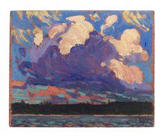 Tom Thomson Catalogue Raisonné | Evening Cloud, Fall 1915 (1915.76) | Catalogue entry