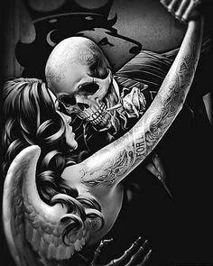 Tattoo ideas skull devil 46 Ideas for 2019 Arte Cholo, Cholo Art, Skull Tattoos, Body Art Tattoos, Tatoos, Rosen Tattoo Mann, Og Abel Art, Art Chicano, Skull Art