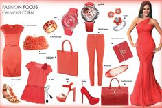 Coral colour is 'in-trend'. Which of these would you shop for?