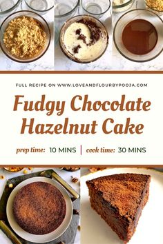 Are you a huge fan of Hazelnut? Try this easy eggless chocolate hazelnut cake at home. It is Fudgy, dense, chocolatey & nutty – like eating a brownie but better! All you need is simple Ingredients like All-Purpose Flour, Hazelnuts, Caster sugar, Chocolate, Milk, etc. No fancy condensed milk, or rising agents, or egg substitutes. Read the full egg-free chocolate hazelnut cake recipe on my blog.   Best chocolate teacake & coffee cake recipes   Chocolate cake recipe ideas Chocolate Hazelnut Cake, Chocolate Fudge Frosting, Best Chocolate, Chocolate Recipes, All You Need Is, Cake Recipes Without Eggs, Eggless Baking, How To Roast Hazelnuts, Tea Cakes