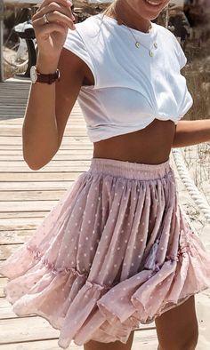 Boho Gypsy Geo Print Wraped Hi Lo Skirt – Gabi SwimwearYou can find Boho gypsy and more on our website.Boho Gypsy Geo Print Wraped Hi Lo Skirt – Gabi Swimwear Cute Summer Outfits, Spring Outfits, Trendy Outfits, Pink Skirt Outfits, Casual Summer, Boho Gypsy, Mode Outfits, Fashion Outfits, Womens Fashion