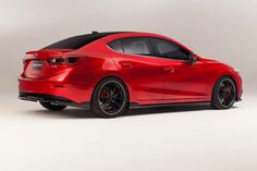 SEMA 2013 — 2014 Mazda3 Sedan Vector 3 Concept