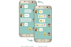 Samsung's Emoji Translation Is Helping People With Speech Disorders    The tech brand has crafted an application for those with aphasia to send emojis as a means of communicationGet More Ideas With The PSFK Daily Newsletter   https://www.psfk.com/2017/04/samsung-emoji-translation.html