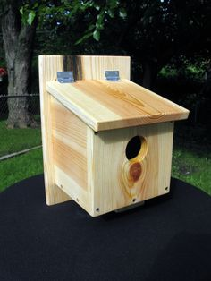 Finch / Sparrow birdhouse and nest box by GeminiMonkeyWorkshop on Etsy