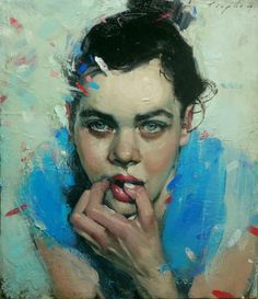 Malcolm T. Liepke, 'Confetti', 2014, Oil on canvas, 24 × 21 in, 61 × 53.3 cm Nikola Rukaj Gallery