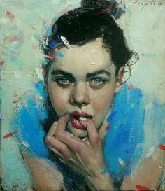 Malcolm T. Liepke, 'Confetti', 2014, Oil on canvas, 24 × 21 in, 61 × 53.3 cm Nikola Rukaj Gallery