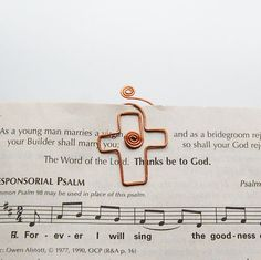 Hey, I found this really awesome Etsy listing at https://www.etsy.com/listing/88538848/copper-cross-small-bible-bookmark