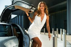 Rosie Huntington Whiteley as Carly in Transformers: Dark of the Moon