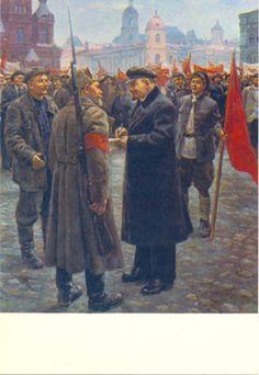 Lênin em 1919 (tela de D. Nalbandian)