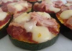 Pizza courgette