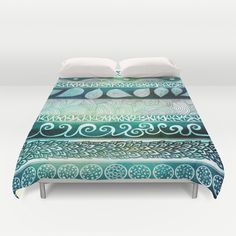 Dreamy Tribal Part VIII Duvet Cover by Pom Graphic Design  - $99.00