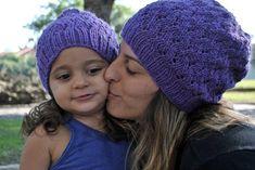 Purple Stitch Project Beanie  Pattern Donated by Paula Pereira  http://purplestitchproject.org/make-it/