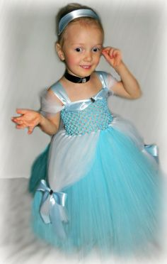 Cinderella Disney Princess Tutu Dress Nb5yrs by TutieCutieTutus, $60.00