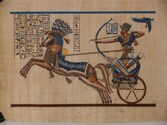 Ancient Egypt | COPY OF ANCIENT EGYPTIAN WALL PAINTING - NEVILLE GISHFORD MEDITATION