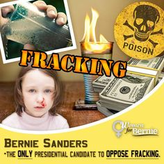 Hillary Clinton supports fracking in the U.S. and overseas in developing countries. Despicable. #NOFrackingWay