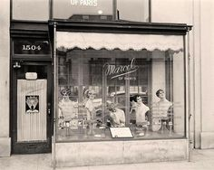 Beauty Shop. It was taken between 1905 and 1945 by Harris & Ewing.