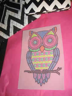 Diy Iron on Heat Transfer of Gorgeous Owl for a New by cthorses66, $7.99