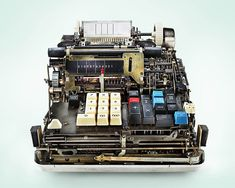 inner workings: The Inner Workings of Antique Calculators Dramatically Photographed by Kevin Twomey