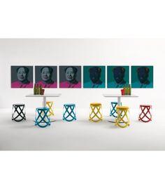 #stool #Sgabello #Ribbon nero #Cappellini buy at #italian #design #outlet €290,20 #living #inspirations