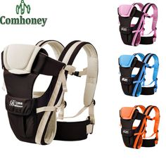 Comhoney Ergonomic Baby Carrier Backpack Multifunctional Waterproof Light Weight Infant Newborn Backpack Carrier Baby Wrap Sling