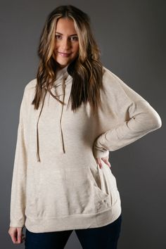 Kangaroo Pocket Knit Pullover Cute Store, Trendy Tops For Women, Cute Boutiques, Drawstring Pants, Piece Of Clothing, Kangaroo, Casual Wear, Trendy Outfits, Going Out