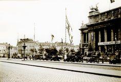 Leopold de Waelplaats, versierd voor de Rubensfeesten, Antwerpen 1927