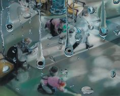 Untitled, 2009 oil on canvas 160 x 200 cm