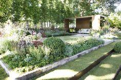 """The New Wave"" by Ian Barker Gardens, Melbourne International Flower & Garden Show the change in levels Garden Design Images, Contemporary Garden Design, Yard Design, Landscape Design, Garden Yard Ideas, Garden Spaces, Hampton Garden, Garden Show, Formal Gardens"